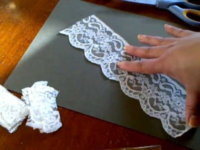Wide Lace Flower Tutorial - WOC Wild Bunch