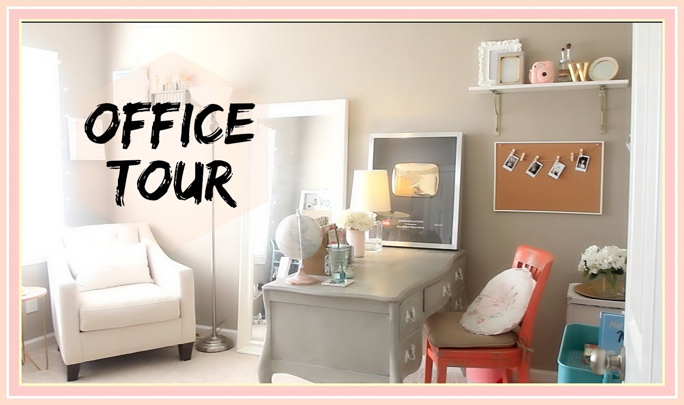 Workspace Tour + Decor | ilikeweylie