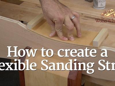 233 - How to Make a Flexible Sanding Strip