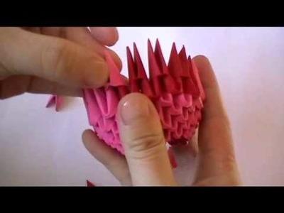 3D origami: domo part 1