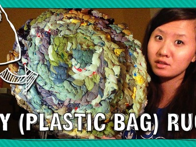 Art Assignment - Make a (plastic bag) Rug | ARTiculations