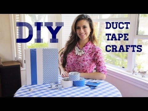Back to School DIYs Using Scotch Duct Tape