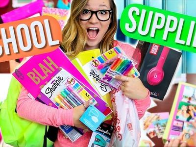 Back To School Supplies Haul + DIY School Supplies! Alisha Marie