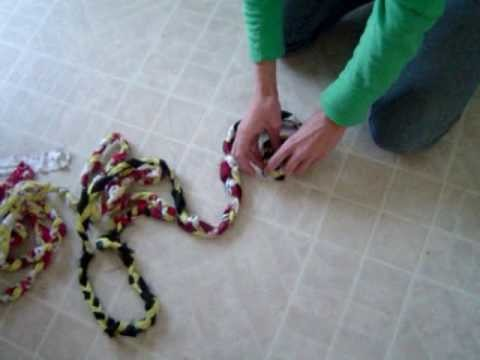 Braided Rag Rug Instructions