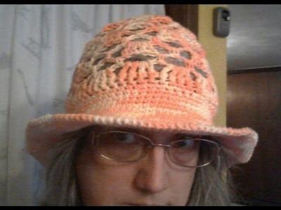 Bricks & Lattice Hat Sun Hat Brim Set up