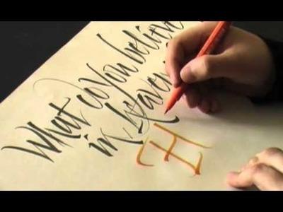 Calligraphy Pages Pt. 2.4 Luca Barcellona | Francesca Biasetton - 2008