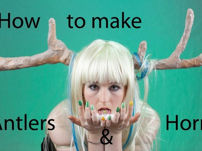 Cosplay Tutorial: Vincent Horns from Catherine and Antlers