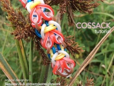 COSSACK Hook Only bracelet tutorial