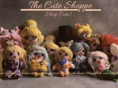 Crochet Amigurumi Dolls - The Cute Shoppe