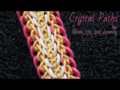 CRYSTAL PATHS Hook Only bracelet tutorial