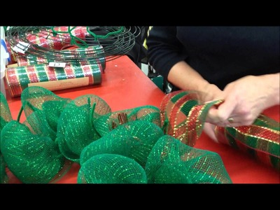 DecoMesh Wreath | Beverly's How-To