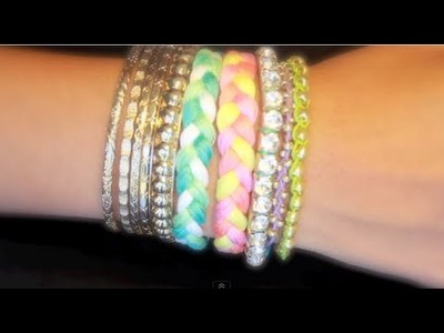 ✄ DIY Braided Bracelet Armcandy ✄