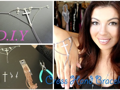 DIY: Cross ✝ Hand Bracelet & GIVEAWAY