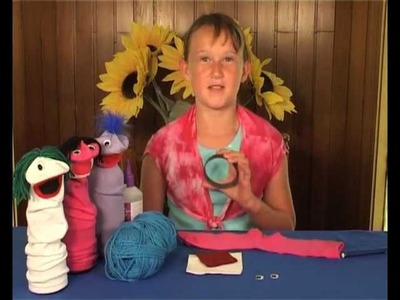 DIY For Kids Sock Puppet