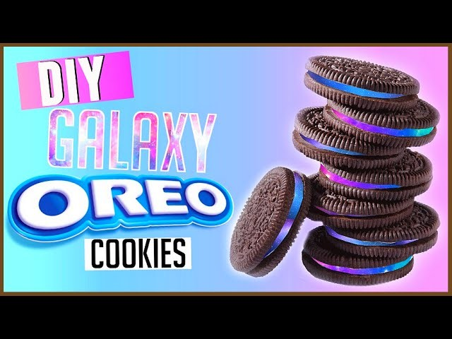 DIY Galaxy Oreos! | Easy DIY Galaxy Treats 2015