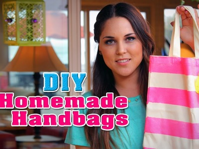 DIY: Homemade Tote Bags - Fun DIY's with Karla (English)