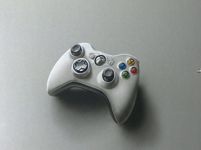 Drawing Time Lapse: Xbox 360 Controller - hyperrealistic art