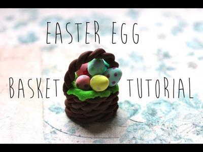 Easter Egg Basket Tutorial!