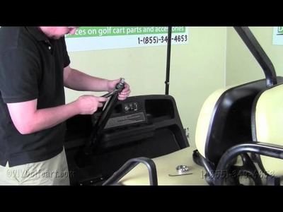 EZGO Steering Column | How To Install Video | Installing Golf Cart Stainless Steel Sleeve