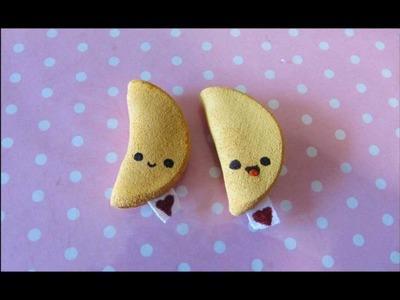 Fortune Cookie squishy tutorial - squishy biscotto della fortuna