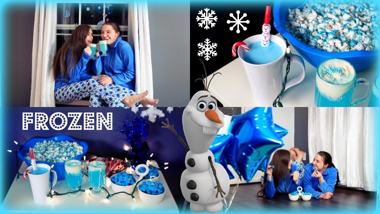 Fun & Easy DIY Frozen Inspired Treats! ♡♡