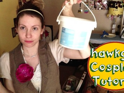 Hawkgirl Cosplay Tutorial - Worbla Painting