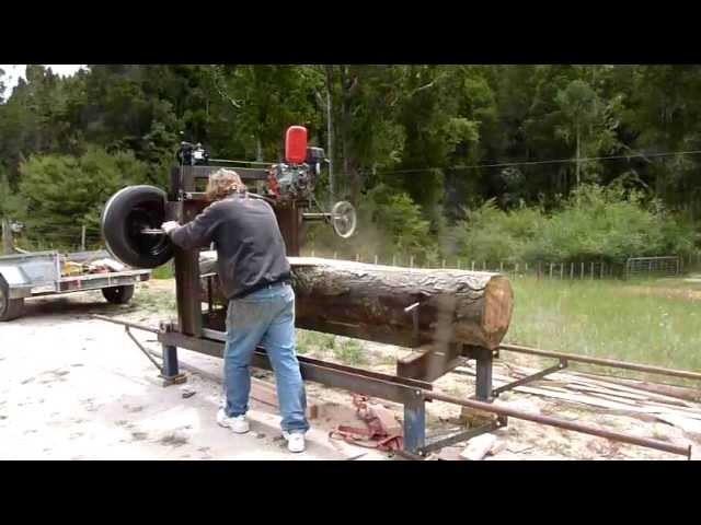 Homemade Band Sawmill
