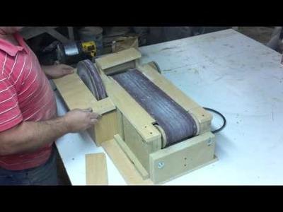 Homemade Belt Sander 5.  The Finished Sander!