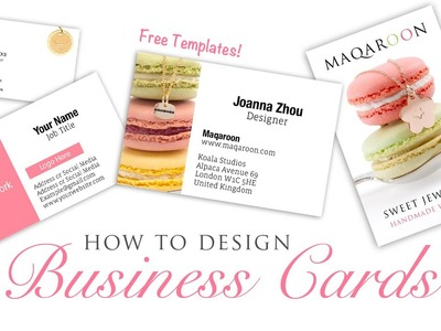 How To Design Business Cards - Graphic Design Photoshop Tutorial