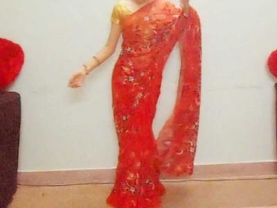 How To Drape Indian Saree-How To Wrap Saree perfectly. Easy Sari Tutorial Video