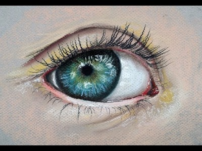 How to Draw a Realistic Eye with Pastels