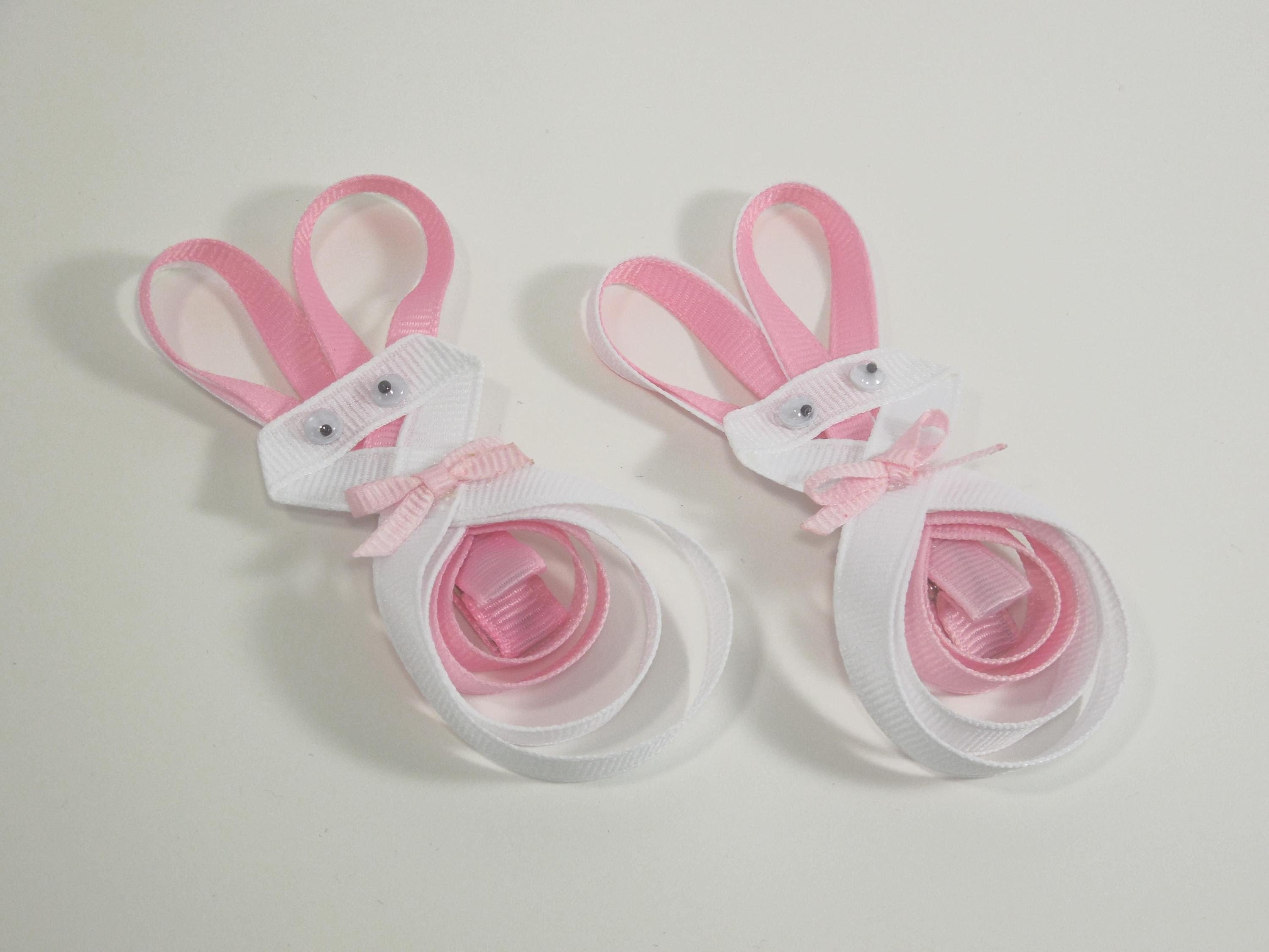 How To Make a Bunny Hair Clip