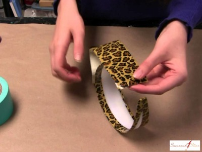 How to Make a Cheetah Headband