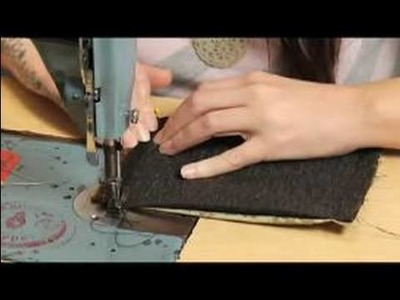 How to Make a Coin Purse : Sewing The Sides Of A Coin Purse