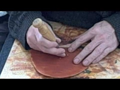 How to Make a Shoe by Hand Part 3 Broguing and Dyeing