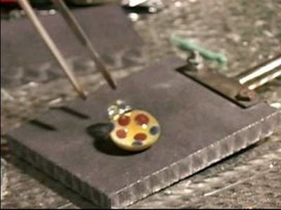 How to Make an Imploded Spun Glass Pendant : How to Kiln an Imploded Glass Pendant