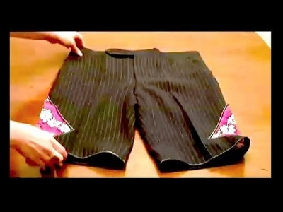 How-To Make Board Shorts and Swim Suits, Threadbanger
