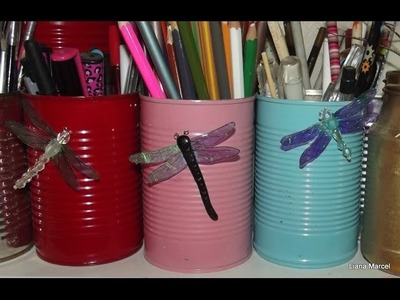 How to make dragonfly embelishments
