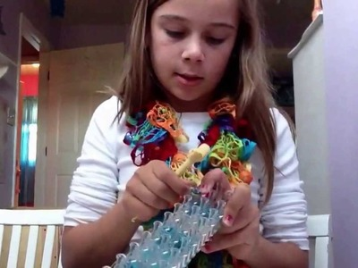 How to make earrings on rainbow loom