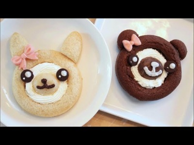 How To Make Kawaii Bunny and Bear Cake Roll!