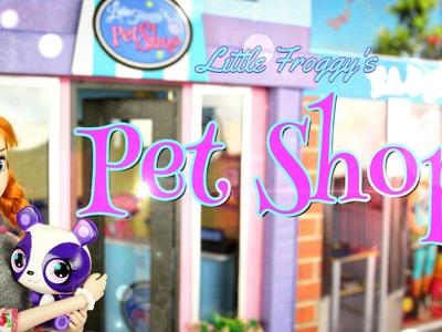 How to Make Little Froggy's Pet Shop - Doll Crafts