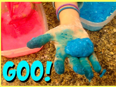 How to Make Oobleck Goo | Two Ingredients DIY Oobleck Goo | Slime Ooze DIY