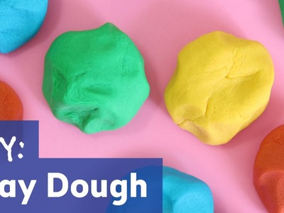 How to Make Play Dough | No Cook Easy Recipe