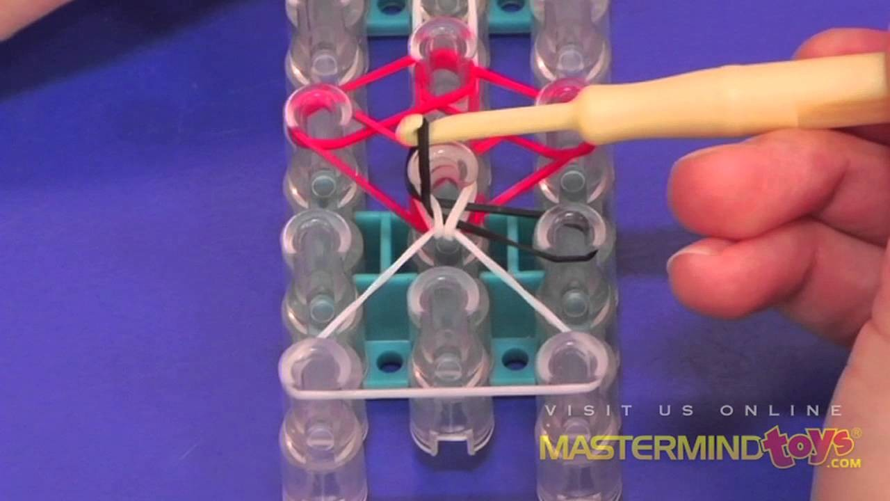 How To: Make the Rainbow Loom Tulip Tower Bracelet!