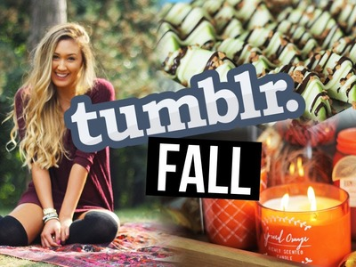 HOW TO MAKE YOUR FALL TUMBLR: DIY Snacks, Style & Decor | LaurDIY