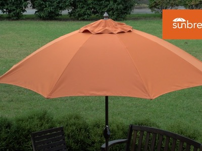 How to Sew a Patio Umbrella