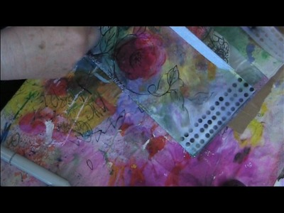 How to spray stencils using any marker pen inc copics