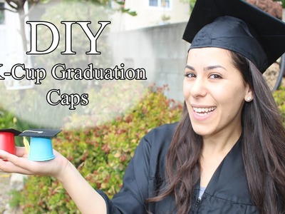 K-Cup Graduation Cap DIY