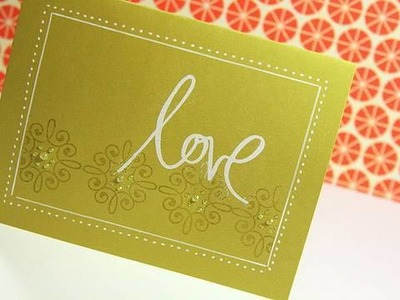 Love - Make a Card Monday #94