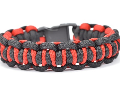 "Make the ""Easy Peasy"" Design - Paracord Survival Bracelet - BoredParacord.com"